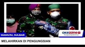 RS Masih Lumpuh Akibat Gempa, Bayi Lahir di Pengungsian Dibantu Dokter TNI
