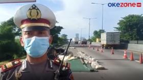 KM 6 Tol Surabaya-Gempol Longsor, Polisi Tutup Satu Lajur