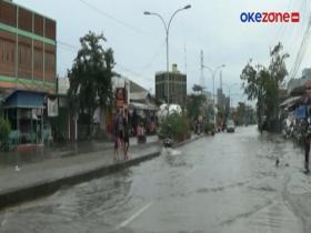 Hujan Deras, Kawasan Kaligawe Terendam Banjir