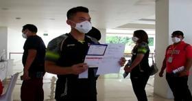 Vaksinasi Atlet, Pelatih dan Tenaga Pendukung