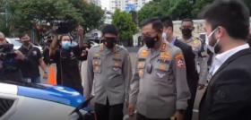 Sosialisasi Mobil Patroli Listrik di Jakarta