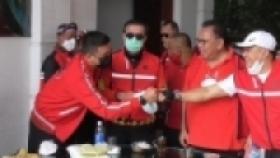 Tingkatkan Imun, Wali Kota Medan Gowes 14 Km Bareng Menkumham Yasonna Laoly
