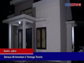 Tim Densus 88 Amankan Dua Terduga Teroris