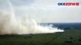 Kebakaran Lahan Gambut di Kalteng dan Riau