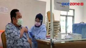 Sekolah Siap Tatap Muka, Tenaga Pendidik Ikuti Vaksinasi