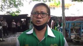 Ricuh Eksekusi Warung Mi, Pemilik Warung Tolak Digusur