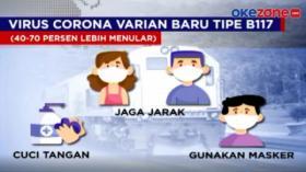 Varian Baru Virus Corona Terdeteksi Masuk Indonesia
