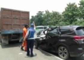 Kecelakaan di Tol Purbaleunyi, Satu Orang Tewas