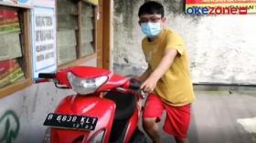 Takut Viral,  Seorang Pencuri Kembalikan Motor Curiannya