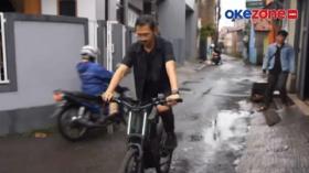 Remaja di Bandung Ciptakan Sepeda Listrik