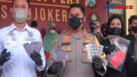Polisi Berhasil Menyita Ribuan Butir Obat Aborsi di Mojokerto, Jatim