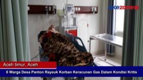 6 Warga Desa Panton Rayeuk Korban Keracunan Gas dalam Kondisi Kritis