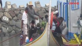 Ratusan Warga Bertaruh Nyawa demi Mudik Jalur Laut
