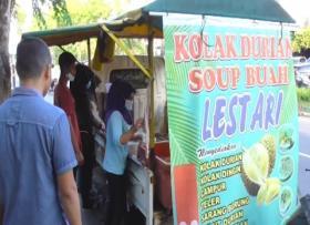 Sensasi Kolak Duren dari Medan