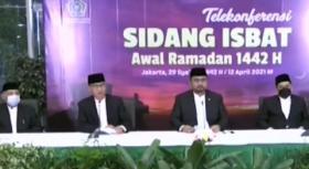 Kemenag: Referensi Hilal Awal Ramadan 1442 H Terlihat di Indonesia