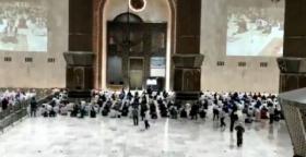 Masjid Istiqlal Dibuka, Jemaah Sambut Gembira
