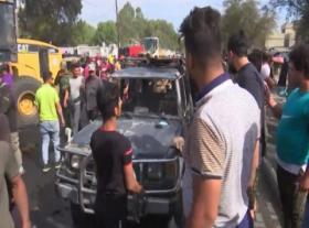 Serangan Beruntun Rudal dan Bom Hantam Irak
