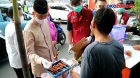 Camat Gambir Sidak Pedagang Takjil di Kawasan Cideng