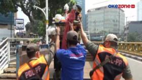Razia PKL di Pasar Tanah Abang, Pedagang Panik