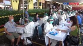1.300 Lansia Menjalani Vaksinasi di Rumah Duka Tionghoa
