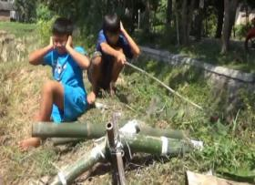 Meriam Bambu, Permainan Tradisional di Bulan Ramadhan