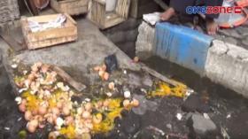Pedagang di Probolinggo Panik saat Razia PKL, Ratusan Telur Pecah