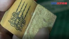 Unik! Alquran Berukuran Mini Milik Masjid Jami Lasem