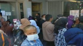 Ratusan Warga Rela Antre BLT UMKM Sejak Pagi di Cimahi, Jawa Barat