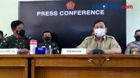 KRI Nanggala-402 Belum Ada Kontak, Menhan Prabowo Persilahkan Lanjutkan Operasi