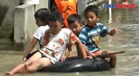 Sering Banjir, Warga Sei Mati Medan Minta Pemerintah Segera Atasi