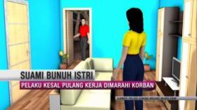 Kesal Sering Diomeli, Suami Bunuh Istri di Muara Enim, Sumatra Selatan