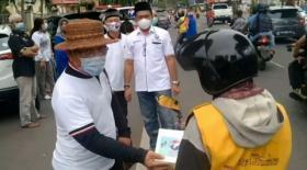 DPW Partai Perindo Berbagi Paket Lebaran di Kota Jambi