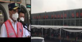Menhub Budi Karya Sumadi Sidak Stasiun Pasar Senen