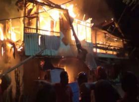 28 Rumah di Makassar Ludes Terbakar