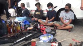Polisi Grebek Peredaran Narkoba di Kampung Ambon Cengkareng