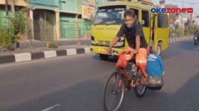 Bersepeda Tangerang-Kebumen Demi Bertemu Keluarga