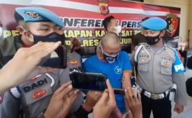 Pelaku Pembakar Pacar Diringkus Polisi di Ciwidey