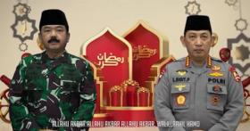 Ucapkan Selamat Idul Fitri 1442 H, Ini Pesan Panglima TNI dan Kapolri