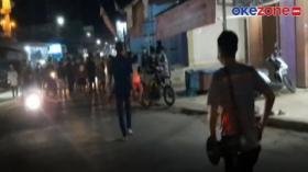 Polisi Bubarkan Tawuran Remaja di Palangkaraya