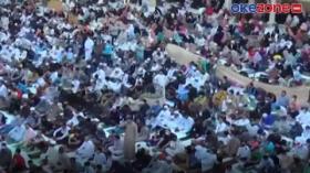 Umat Muslim di Mesir Jalani Salat Idul Fitri di Masa Pandemi