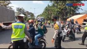 Arus Balik Mulai Padati Jalur Cirebon Arah Jakarta