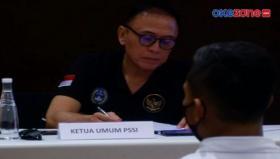 Ketua Umum PSSI Melepas Timnas ke Dubai