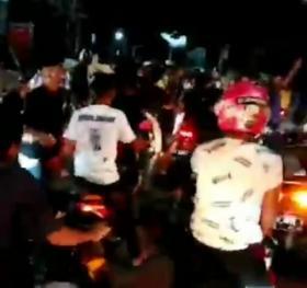 Viral, Bentrok Pengantar Jenazah dengan Pengendara, Polisi Perketat Keamanan Wilayah