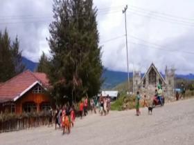 Situasi Distrik Ilaga Utara Kabupaten Puncak Papua Mulai Kondusif