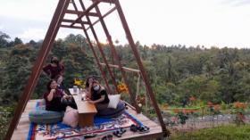 Taman Langit Picnik Cafe, Objek Wisata Baru Yang Lagi Hits di Manado