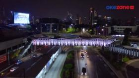 10 JPO di Jakarta Disetting Warna Bendera Palestina