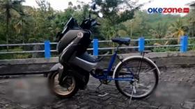 Modifikator Ekstrim Kecoh Polisi di Trenggalek, Jawa Timur