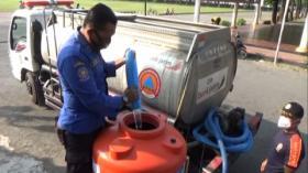 Petugas Pemadam Kebakaran Cegah Penularan Covid-19