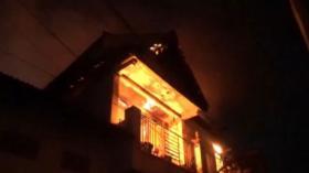 Kebakaran Toko Kain Ikut Hanguskan Rumah Pemiliknya