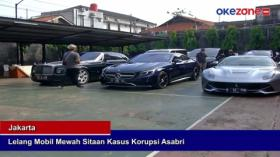 Lelang Mobil Mewah Sitaan Kasus Korupsi Asabri